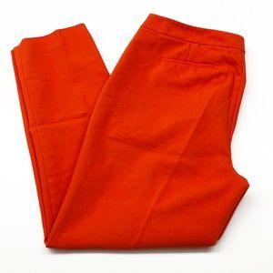 Chaus fire orange skinny pants